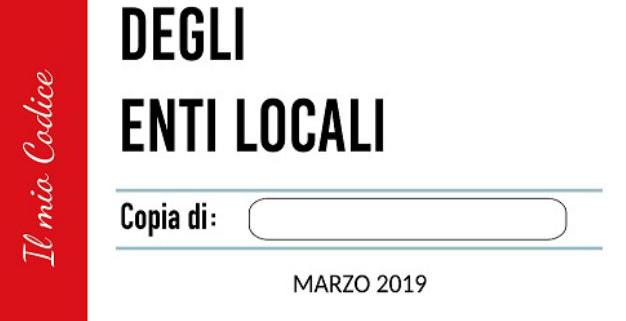 Italia Codice degli Enti Locali